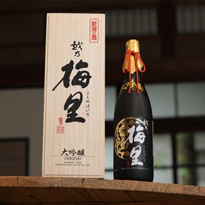 越乃梅里 大吟醸原酒 越淡麗磨き35%