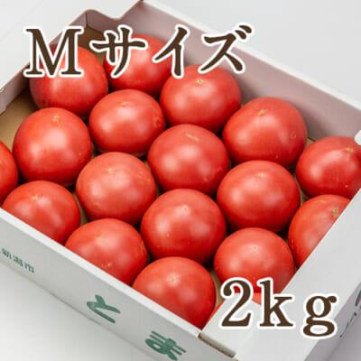 新潟産トマト「桃太郎グランデ」Mサイズ約2kg