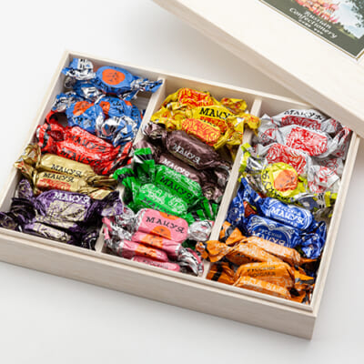 ロシアチョコレート詰め合わせ(木箱入)