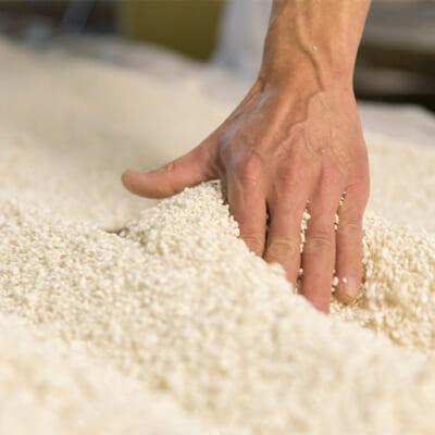全量純米仕込みで酒米を贅沢に使用