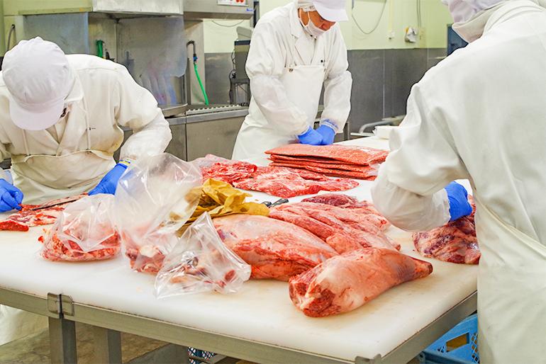 牛肉専門店オリジナルの本格的な味