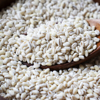 小麦麺にはない「もちもち食感」