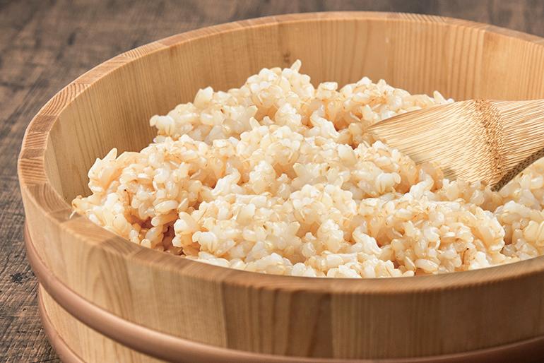 「万能食・完全食」と呼ばれる発芽玄米