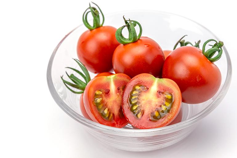 「完熟もぎ」できる高糖度トマト