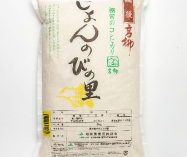 令和2年度米 新潟県産コシヒカリ「じょんのびの里」(棚田栽培)