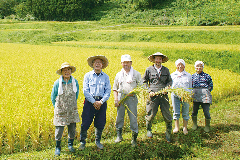柏崎の自然の恵みが詰まったお米