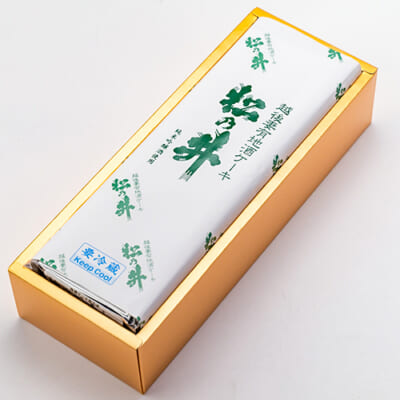 地酒ケーキ(松乃井)1本入