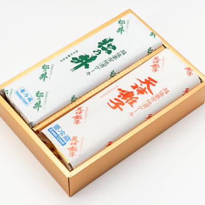 地酒ケーキ(天神囃子・松乃井)2本入