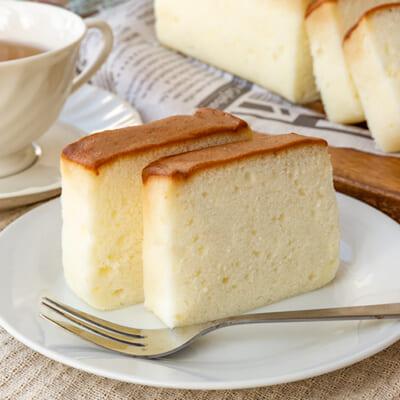 老舗お菓子処の名物「地酒ケーキ」