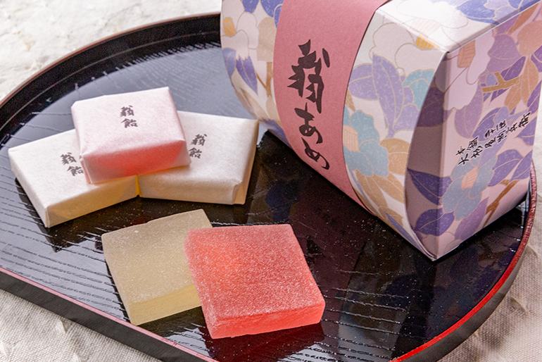 県内で最も歴史ある老舗菓子店