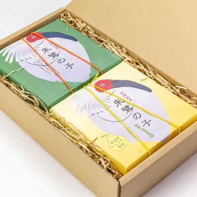 梱包イメージ(黄身あん&ル・レクチェ 各1箱)