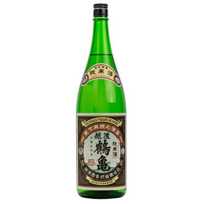越後鶴亀 純米 1.8l(1升)