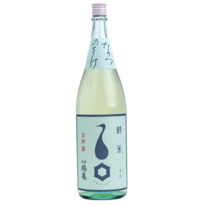越後鶴亀 なつのさけ 純米 生貯蔵 1.8l(1升)
