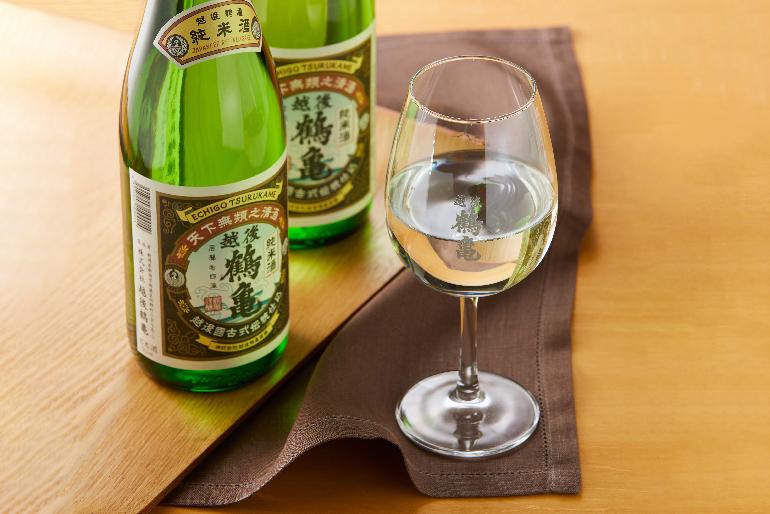 ワイングラスで美味しい日本酒