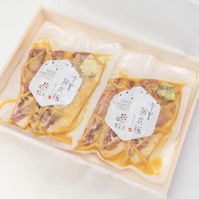 新潟県産 雪室熟成豚 ロース味噌漬