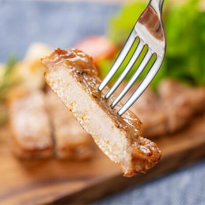 熟成肉から溢れる旨みが絶品