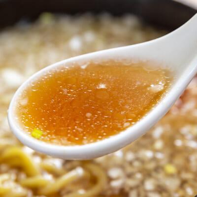 身体に「すーっと染みる」優しいスープが自慢