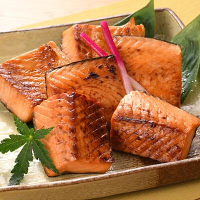 熟成味噌が鮭の旨味を引き出す