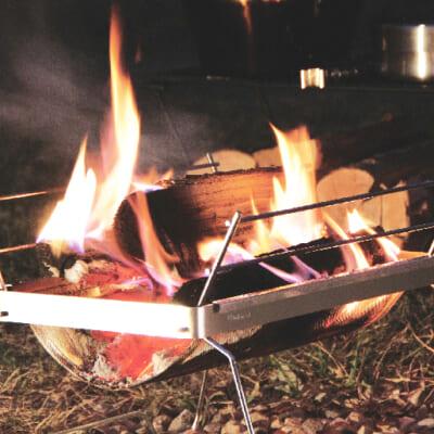 燃焼効率のいい焚き火台