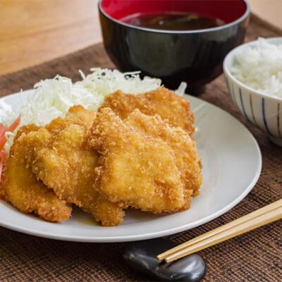 新潟の食材のみで作った、「甘辛」鶏タレカツ