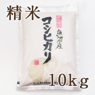 魚沼産コシヒカリ 精米10kg