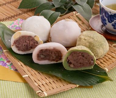 豆大福・草餅