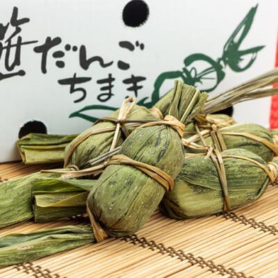 新潟伝統の郷土食!笹とヨモギの風味が広がります