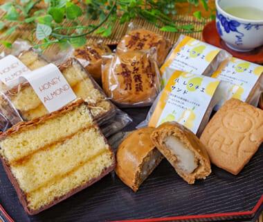 みそ饅頭と人気菓子の詰め合わせ