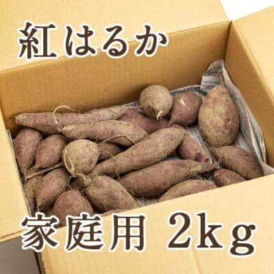 【家庭用】新潟産 低温熟成さつまいも 紅はるか 2kg