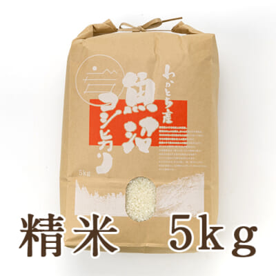 魚沼産コシヒカリ(棚田栽培・特別栽培)精米5kg