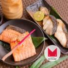 割烹太田家名物 鮭と銀だらの味噌漬け