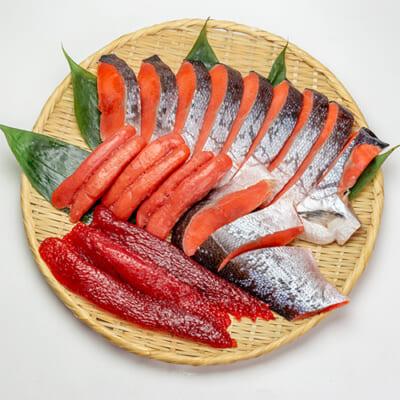 本造り銀鮭詰め合わせ(松)