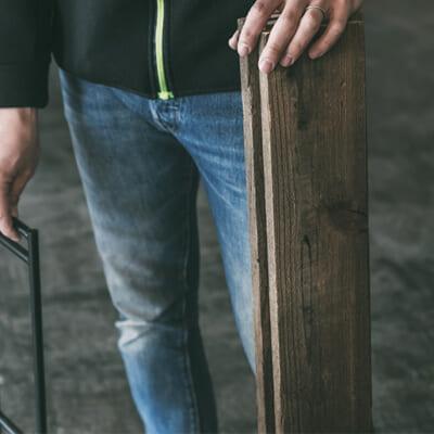 良質な木材は長い年月を経ても再利用することが可能