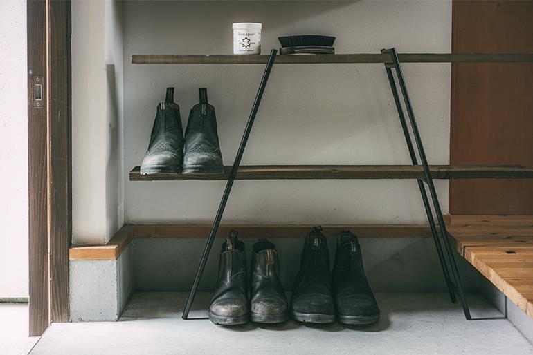 3.靴置きとして