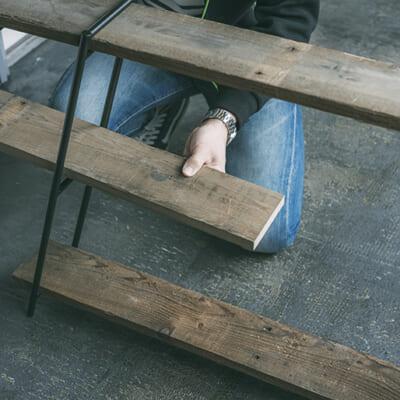 工具不要で、屋外でも組み立て簡単!