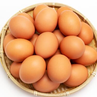 :M・Lサイズの大きめの卵をお届けします