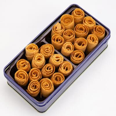 華クッキー 缶入り 小(約20個入)