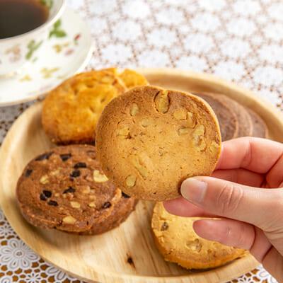 クッキー生地が、しっとりやわらか!ソフトな口当たり