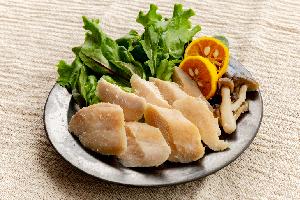 5.越の鶏ささみ塩糀漬け