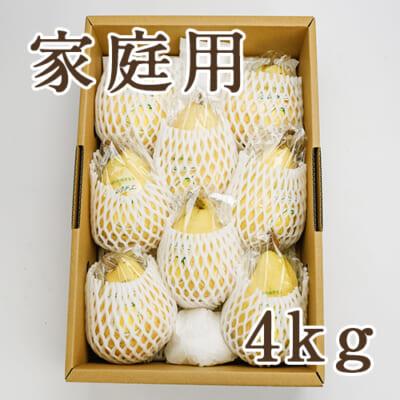 【家庭用】「天果糖逸」ル レクチエ 4kg