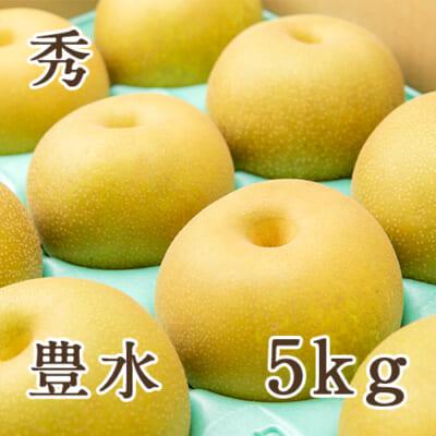 「天果糖逸」新潟県産 梨 豊水 秀 5kg