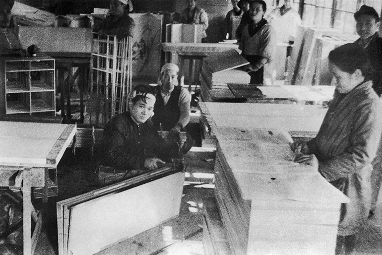 100年以上培ってきた屏風製造の技術