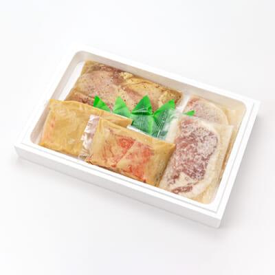 サーモン・豚・鶏の漬けセット
