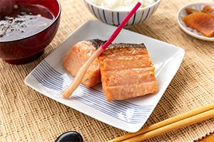 1.キングサーモンの味噌漬け