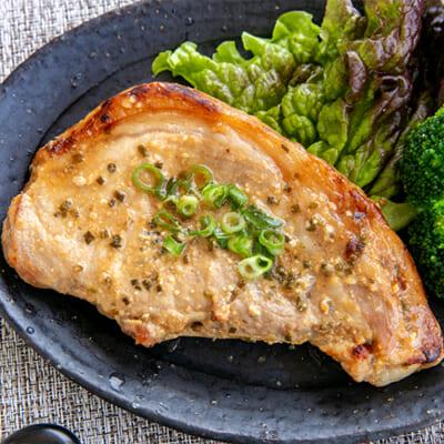 和豚もちぶた ねぎ味噌ステーキ