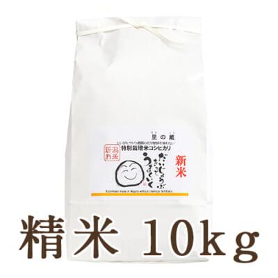 新潟県産コシヒカリ(特別栽培・従来品種)精米10kg