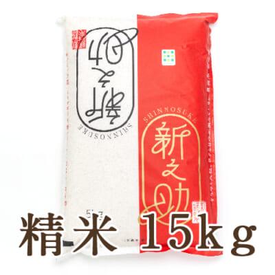 新潟産 新之助 精米15kg