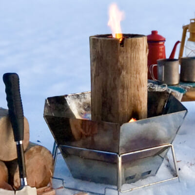 普段の焚き火よりもロマンチックな雰囲気