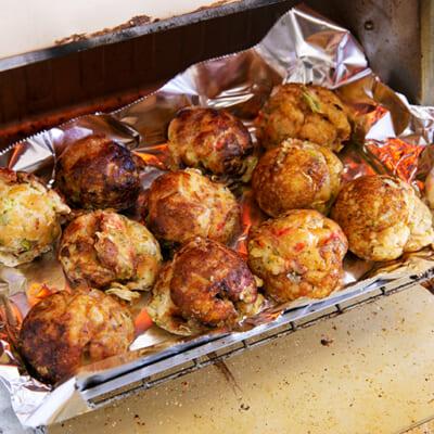 レンジとオーブンで、簡単に調理できます