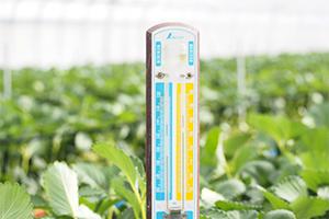 3.ハウス内の温度を安定させ、生育を良くする